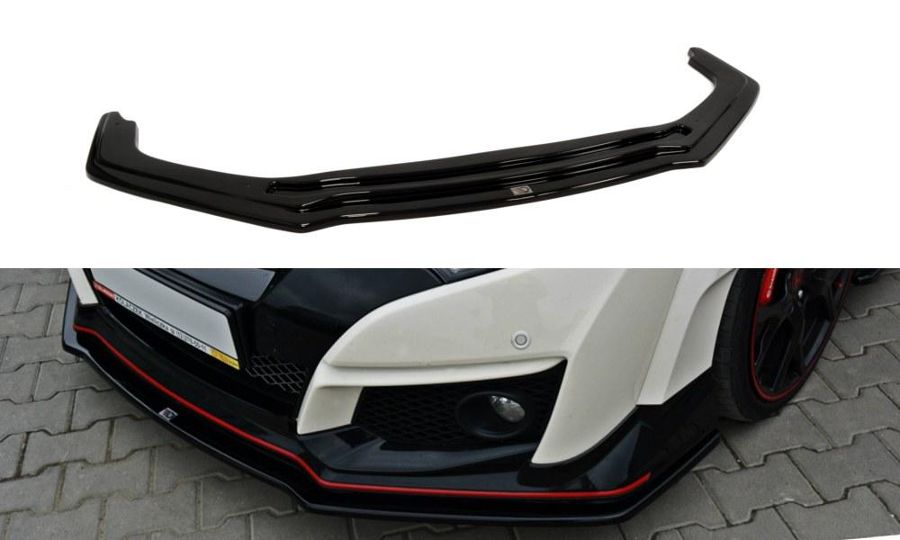 Splitter Przedni Honda Civic IX Type R V.1 - GRUBYGARAGE - Sklep Tuningowy